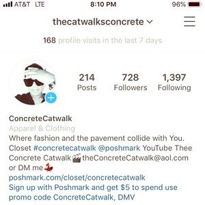 Follow me on Instagram and watch me on YouTube 😘
